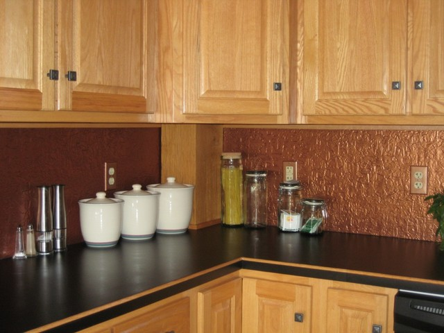 Kitchen Wall Coverings : Backsplash wainscoting wall coverings traditional