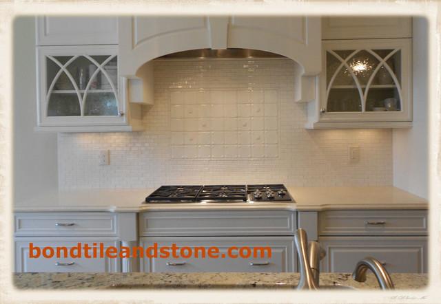 Backsplashes traditional-kitchen
