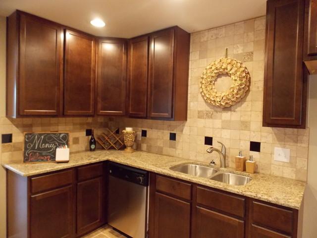 backsplashes traditional kitchen austin by brc