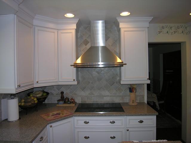 backsplashes traditional kitchen dc metro by