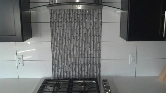 Backsplashes contemporary-kitchen