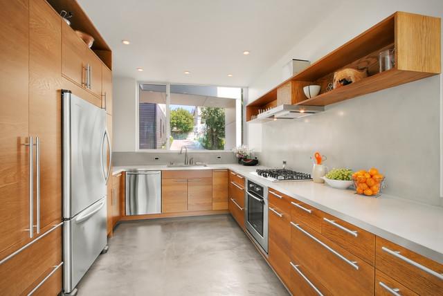 Backyard House contemporary-kitchen