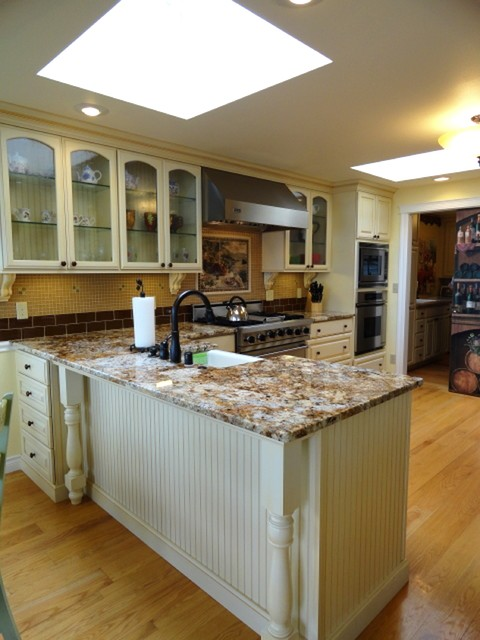 Bainbridge Island East Waterfront Home Traditional Kitchen Seattle By Wyland Interior