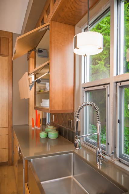 Bainbridge Island Kitchen contemporary-kitchen