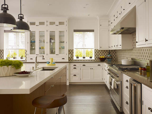 inspiration for a timeless kitchen remodel in san francisco with beaded inset cabinets stainless steel