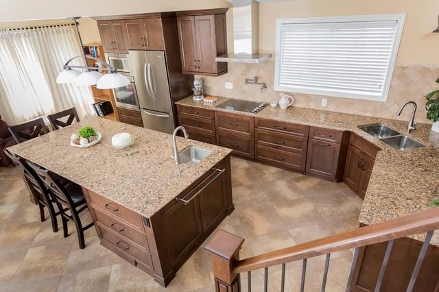 Baker transitional-kitchen
