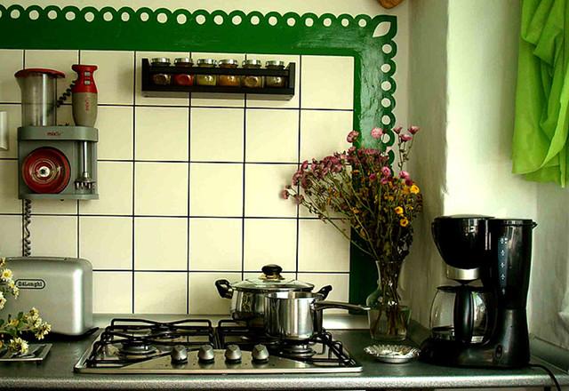 Baladei apartment eclectic-kitchen