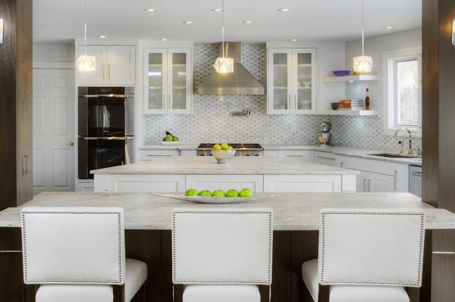 Balanced Home in London (1247) - Modern - Kitchen - Toronto - by Braam's Custom Cabinets