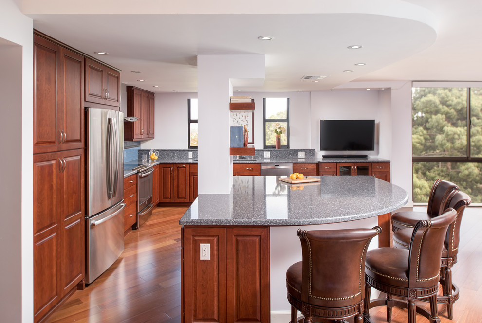 Balboa Park, San Diego CA Kitchen Remodel - Traditional ...