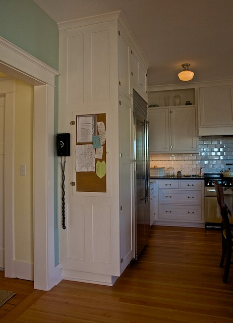 Ballard Farmhouse Traditional Kitchen Seattle By Seattle Custom Cabinets