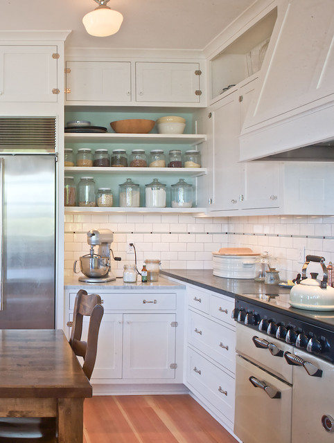 Ballard farmhouse traditional kitchen seattle by for Kitchen cabinets seattle