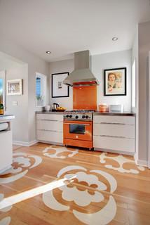 Ballard Residence - Contemporary - Kitchen - Seattle - by Zinc Art + Interiors