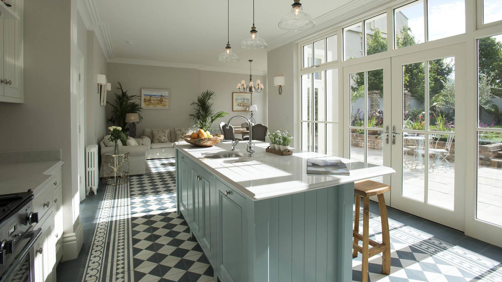 75 Beautiful Farmhouse Ceramic Tile Kitchen Pictures Ideas July 2021 Houzz