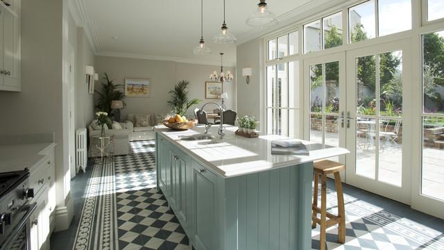 Ballsbridge Kitchen Design - Farmhouse - Kitchen - Dublin - by ...