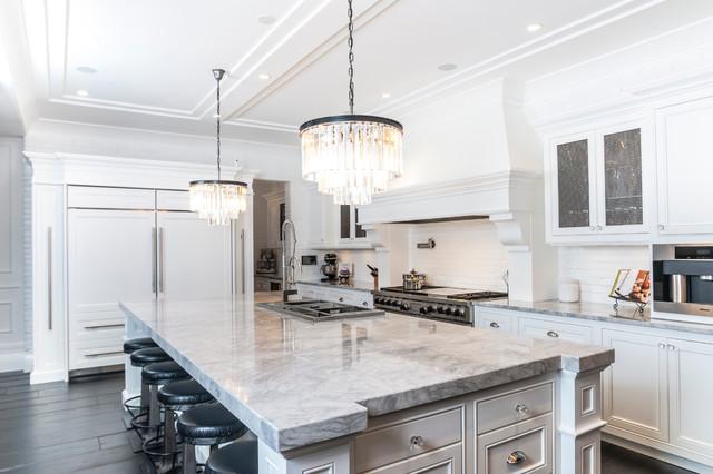 kitchen by novel painting solutions inc - Granite Versus Quartz