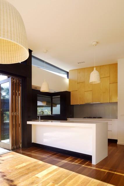 Balnarring Beach House - Modern - Kitchen - Melbourne - by Simon Couchman Architects