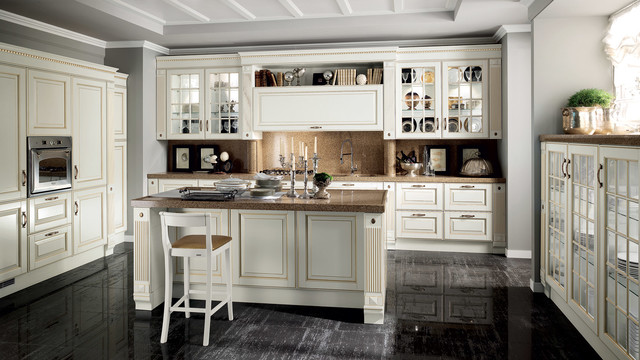 baltimora kitchen - scavolini - traditional - kitchen - melbourne