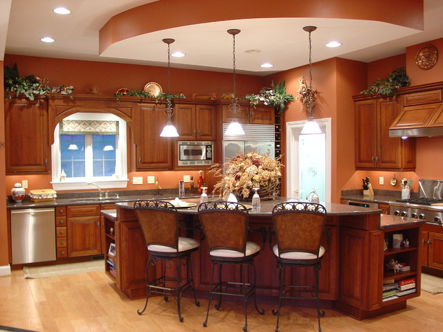 Baltimore central island kitchen traditional kitchen for Baltimore kitchen remodeling