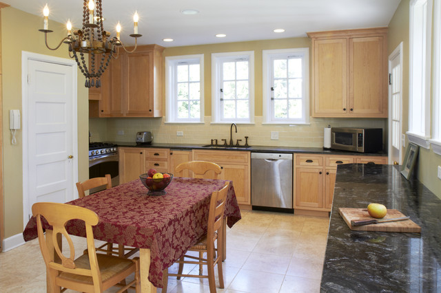 Gittings Renovation traditional-kitchen