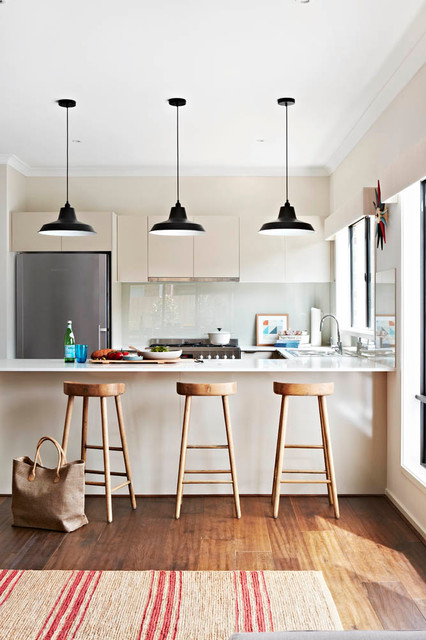 Balwyn orbit display home contemporary kitchen for Display home kitchens