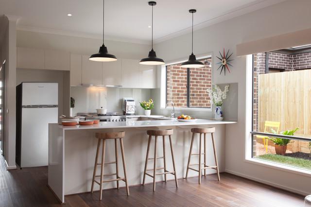 Balwyn - Contemporary - Kitchen - Melbourne - by Orbit Homes