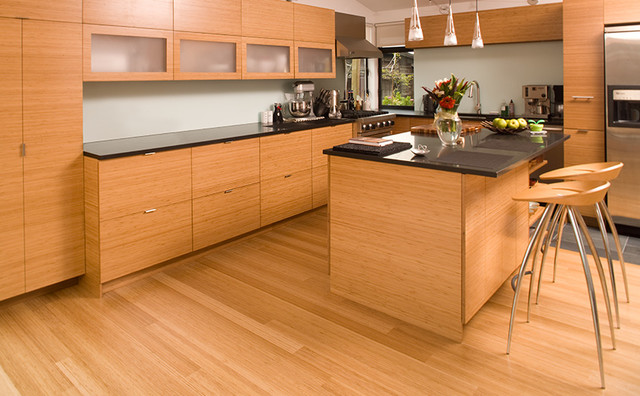 bamboo cabinet - Modern - Kitchen - other metro - by ...