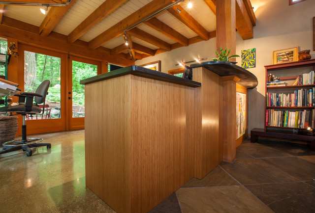 Bamboo Island contemporary-kitchen