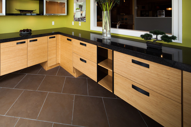 Bamboo Asian Kitchen Vancouver by Kitchen Craft Cabinetry – Bamboo Kitchen