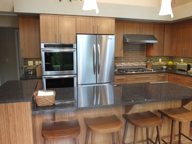 Bamboo Kitchen - Contemporary - Kitchen - seattle - by ...
