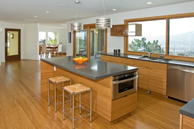 Bamboo Kitchen - Modern - Kitchen - san francisco - by Marshall Architecture & Design