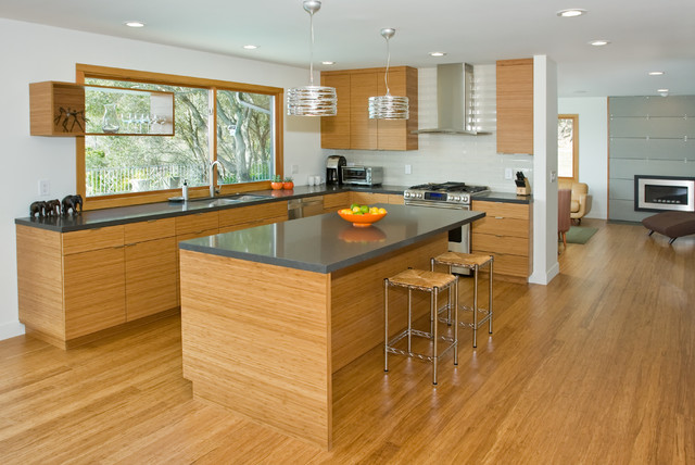 Bamboo kitchen modern kitchen san francisco by for Bamboo kitchen cabinets