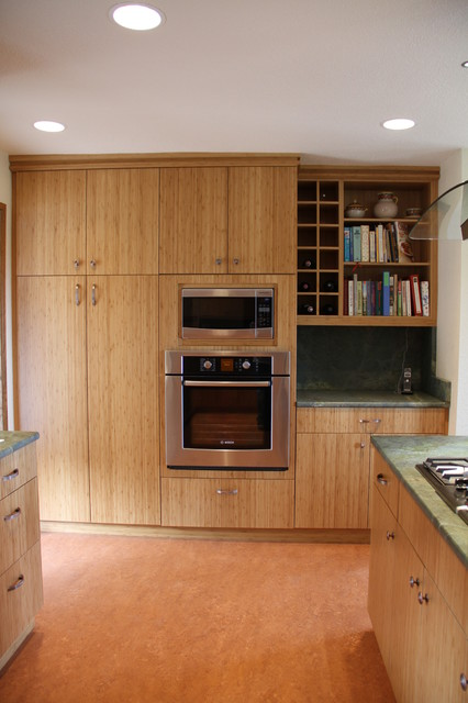 Bamboo Kitchen Traditional Kitchen Seattle By Concepts Kitchen And Bath Designs