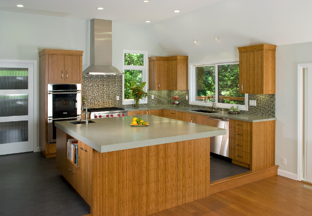 Bamboo Kitchen modern kitchen
