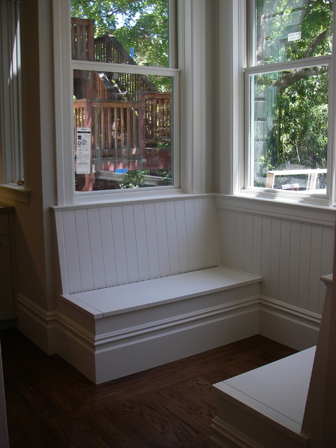 Banquette benches - Kitchen banquette with storage ...