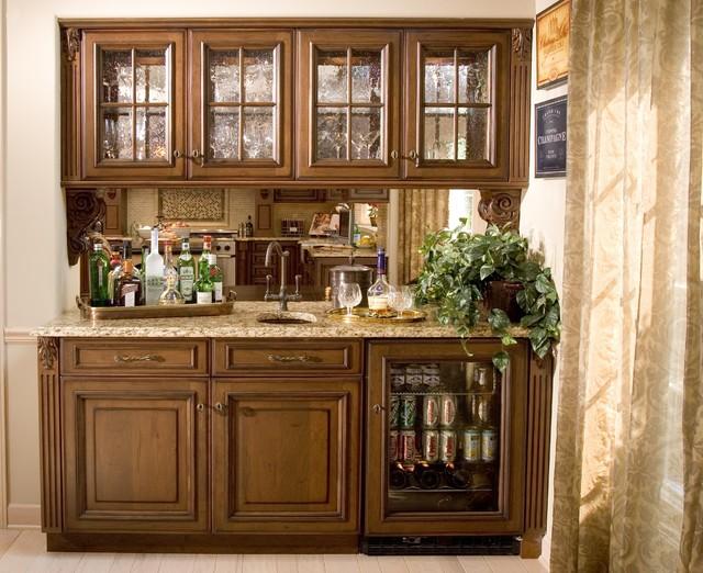 Bar and Kitchen storage traditional-kitchen
