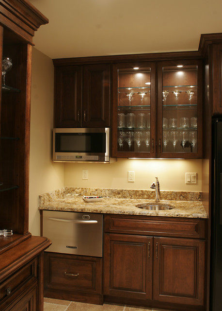 Bar Areas traditional-kitchen