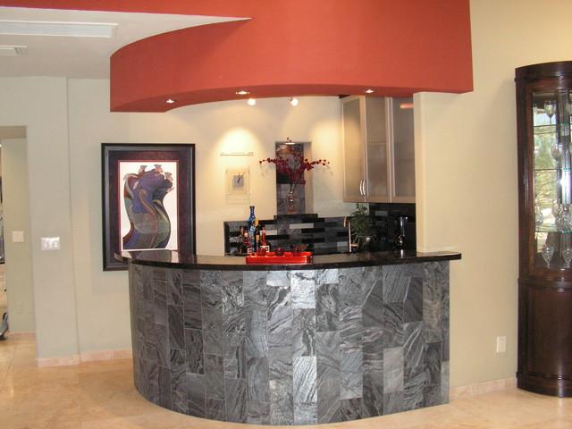 Bar Contemporary Kitchen Phoenix By Arizona Designs Kitchens And Baths