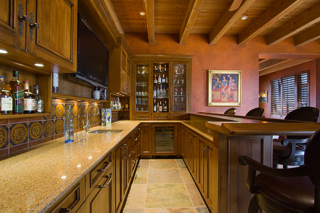 Bar - Traditional - Kitchen - phoenix - by Arizona Designs Kitchens and Baths