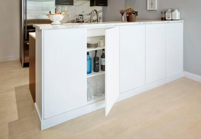Bar Counter Cabinet - Modern - Kitchen - New York - by PICKETT FURNITURE