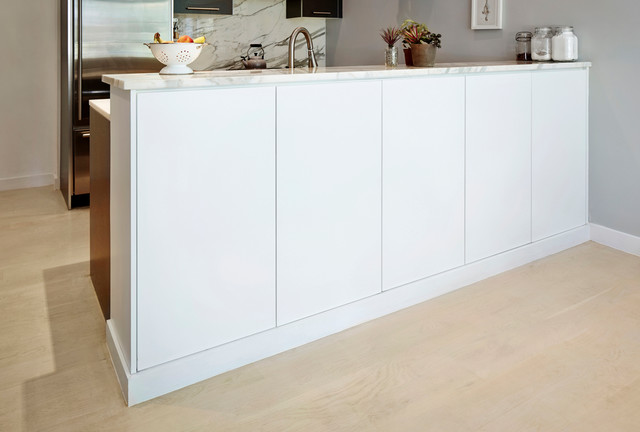 Bar Counter Cabinet Modern Kitchen New York By