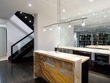 modern kitchen 8 Mirror Types for a Fantastic Kitchen Backsplash (8 photos)
