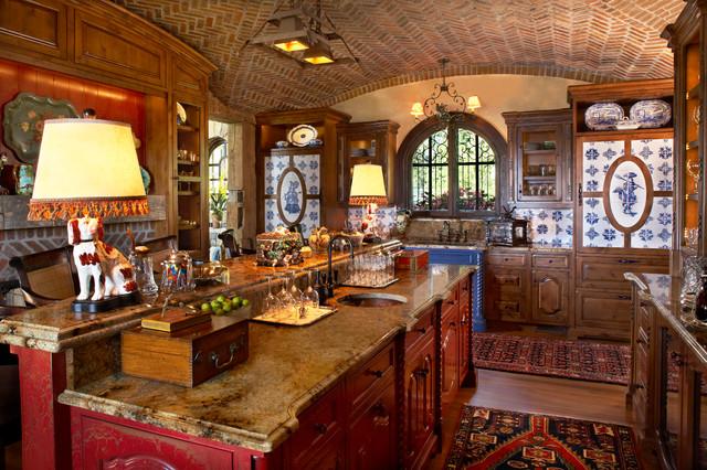 Bar - Rustic - Kitchen - minneapolis - by Gabberts Design Studio
