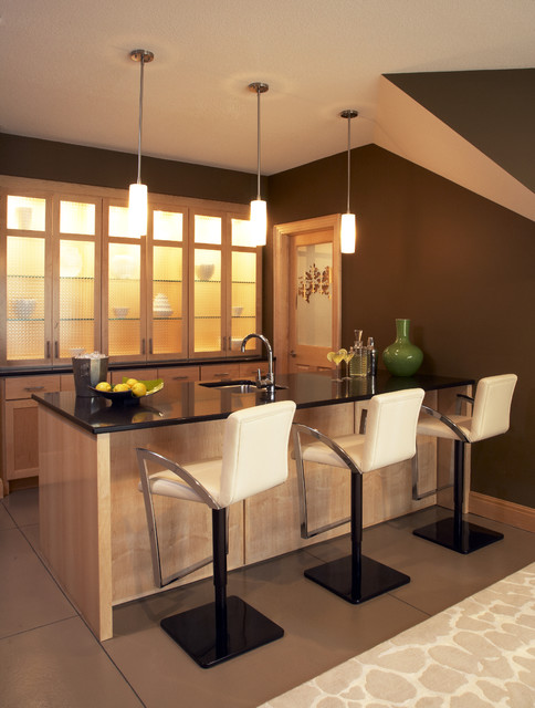 bar contemporary kitchen minneapolis by gabberts design studio. Black Bedroom Furniture Sets. Home Design Ideas