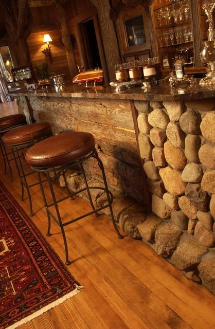 Bar Rustic Kitchen Minneapolis By Gabberts Design