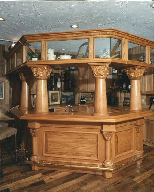 bar traditional-kitchen