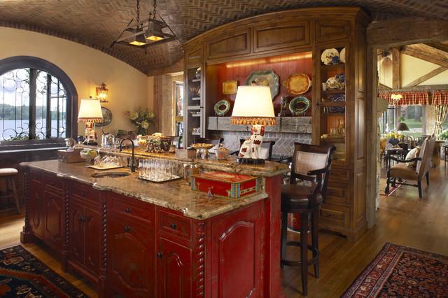 Bar rustic-kitchen