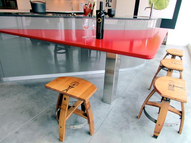Bar stools chairs modern kitchen calgary by vinoture