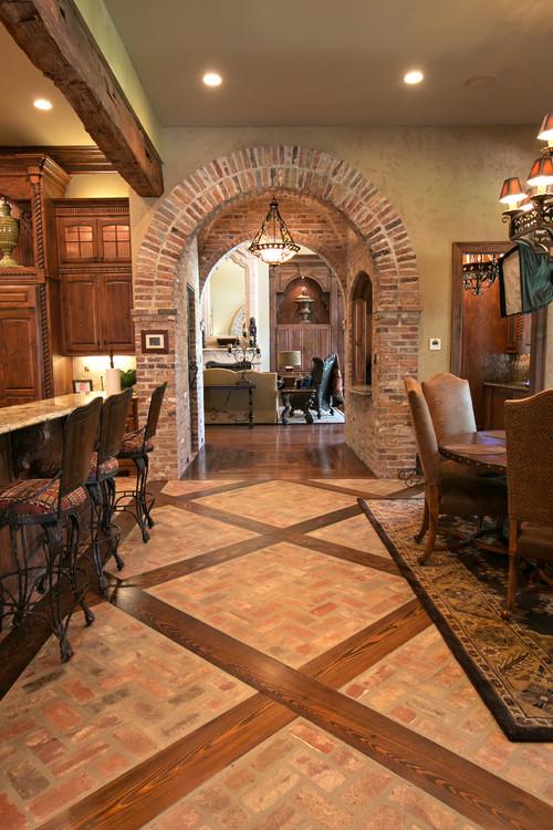 Brick And Wood Floor Flooring Ideas And Inspiration