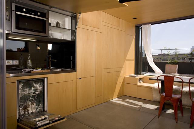 Barcelona House contemporary-kitchen