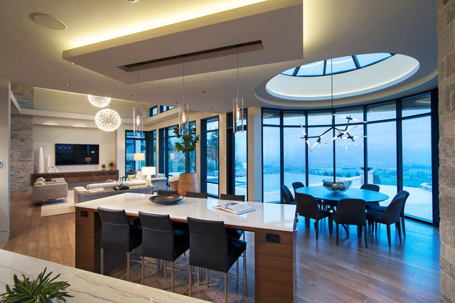 Barker contemporary kitchen vancouver by old world for Barker kitchen cabinets